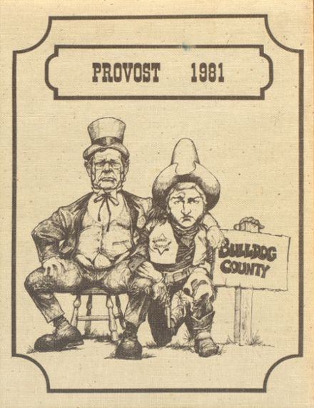 1981 Provo High School Yearbook Cover