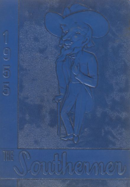 1955 South Mountain High School Yearbook Cover
