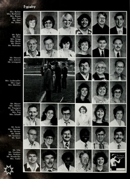 1987 Northwood Middle School Yearbook Page 8