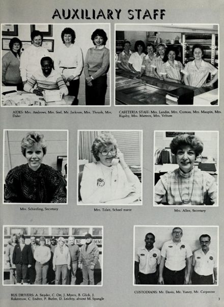 1987 Northwood Middle School Yearbook Page 9