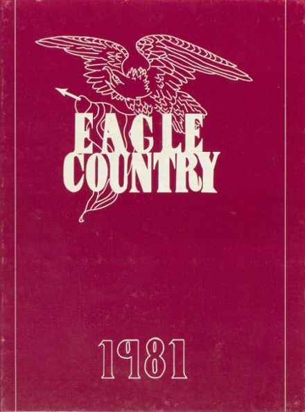 1981 Mildred High School Yearbook Cover