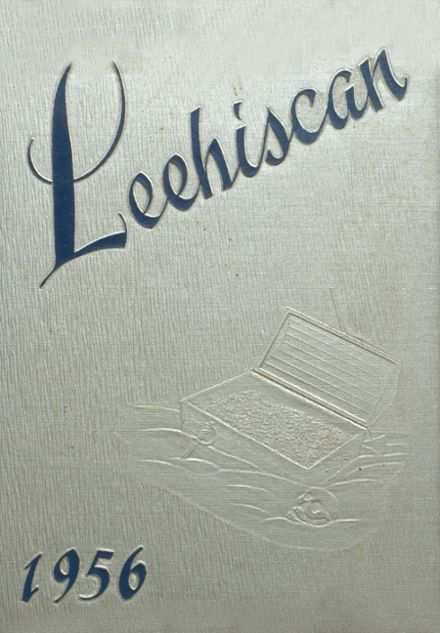 1956 Leetonia High School Yearbook Cover