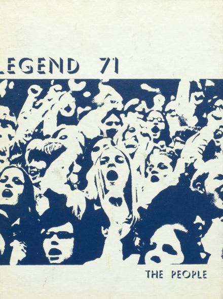 1971 East Noble High School Yearbook Cover