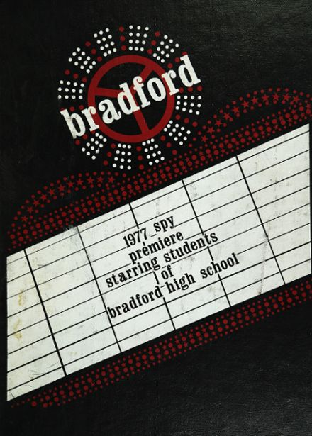 1977 Bradford High School Yearbook Cover