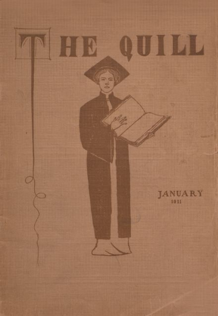 1911 East High School Yearbook Cover