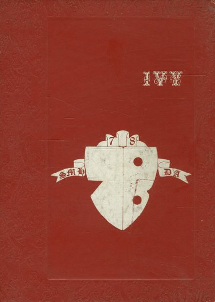 1978 St. Mary's Hall / Doane Academy Yearbook Cover