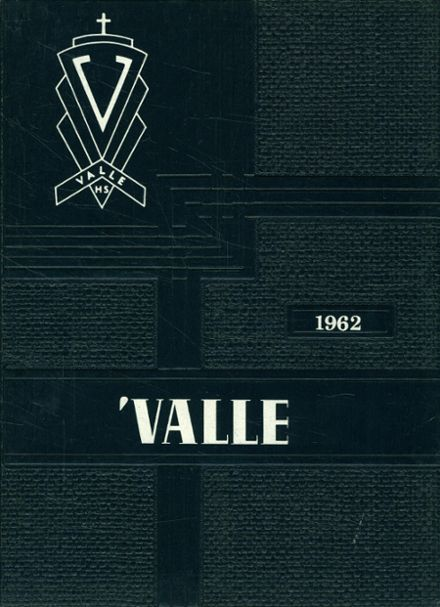 1962 Valle Catholic High School Yearbook Cover