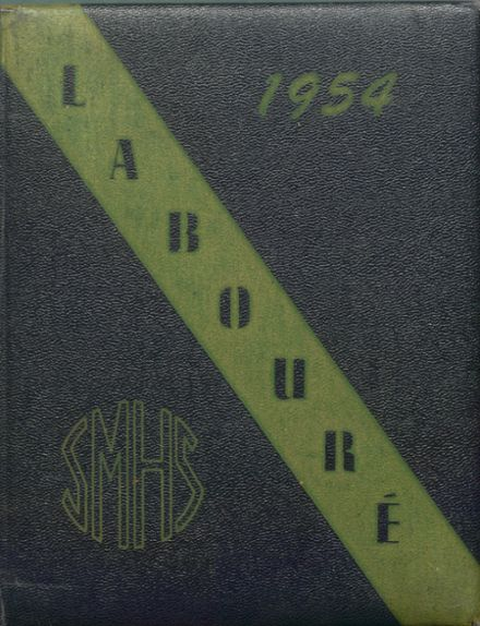 1954 St. Martin's High School Yearbook Cover