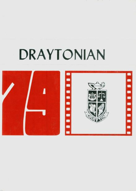 1979 Drayton High School Yearbook Cover