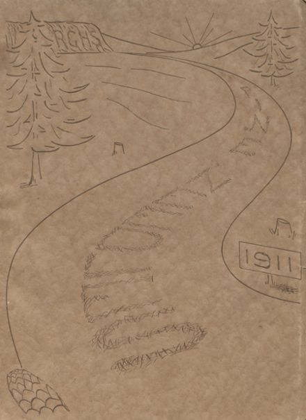 1911 Richland Center High School Yearbook Cover