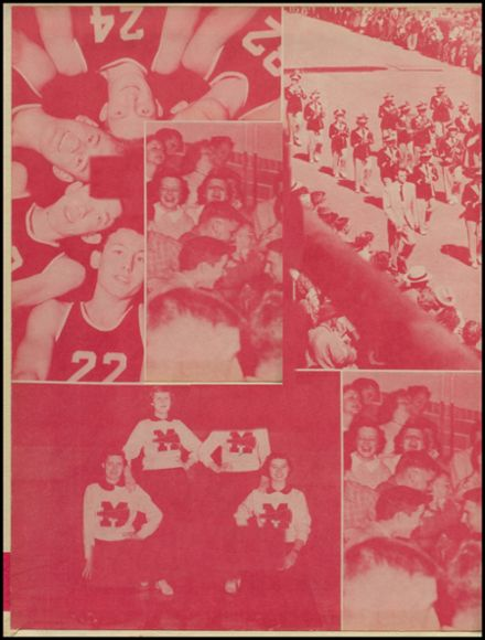 1954 Maple Valley High School Yearbook Page 2