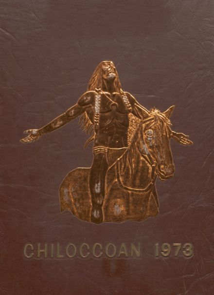 1973 Chilocco Indian School Yearbook Cover