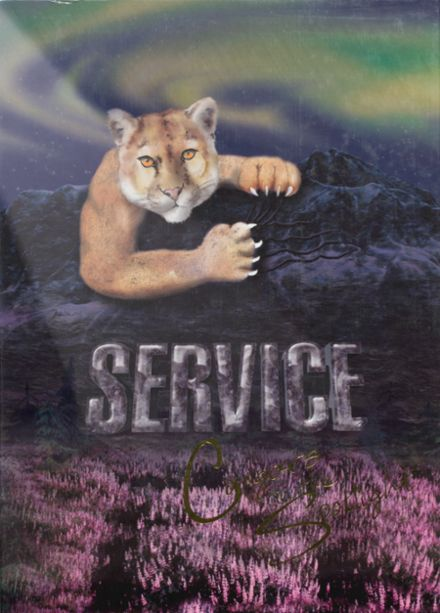 2003 Service High School Yearbook Cover