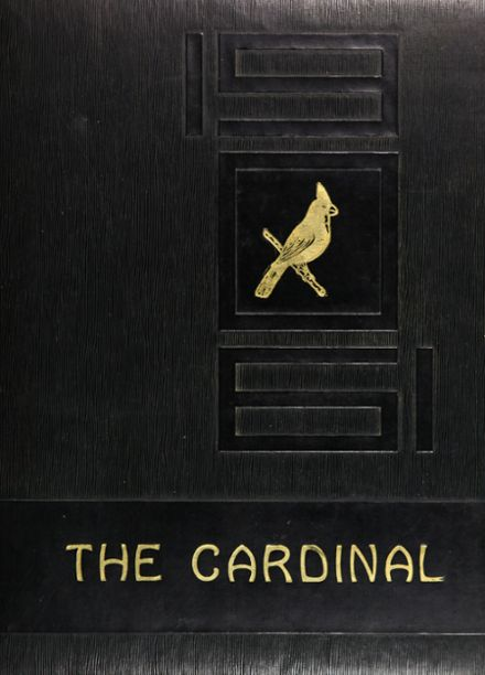 1961 Triad High School Yearbook Cover