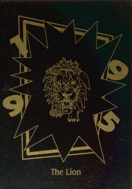 1995 Leveretts Chapel High School Yearbook Cover