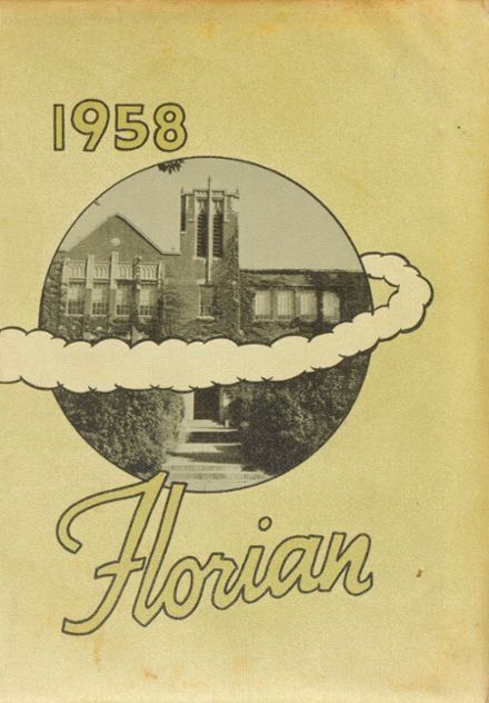 1958 Flora High School Yearbook Cover