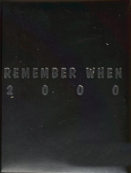 2000 Yvonne A. Ewell Townview Center Yearbook Cover