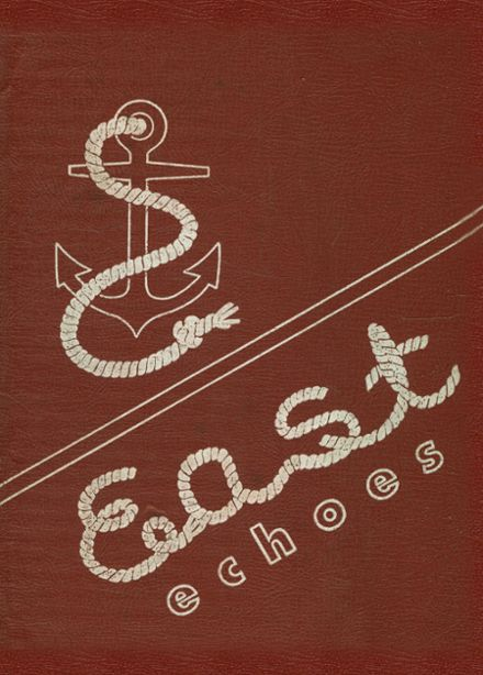 1954 East High School Yearbook Cover