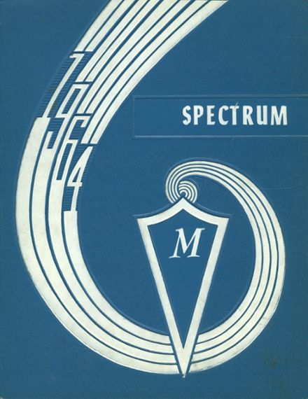 1964 McHenry High School Yearbook Cover