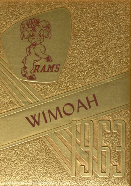 1963 West Valley High School Yearbook Cover