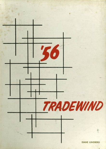1956 Minneapolis Vocational Yearbook Cover