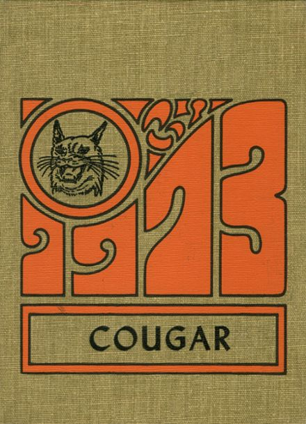 1973 Courtenay High School Yearbook Cover