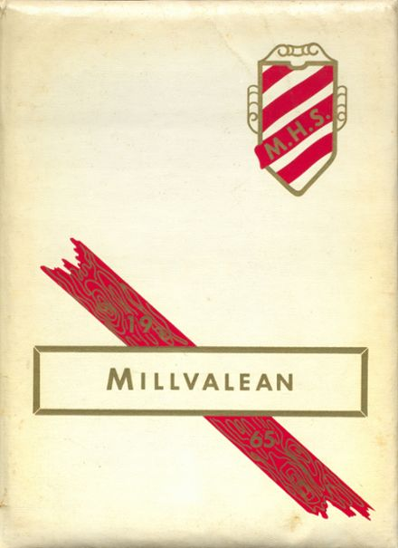 1965 Millvale High School Yearbook Cover