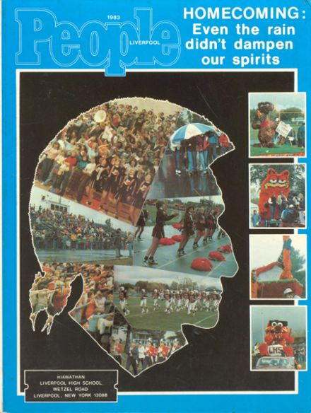 1983 Liverpool High School Yearbook Cover