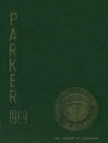 1969 Midland Park High School Yearbook Cover