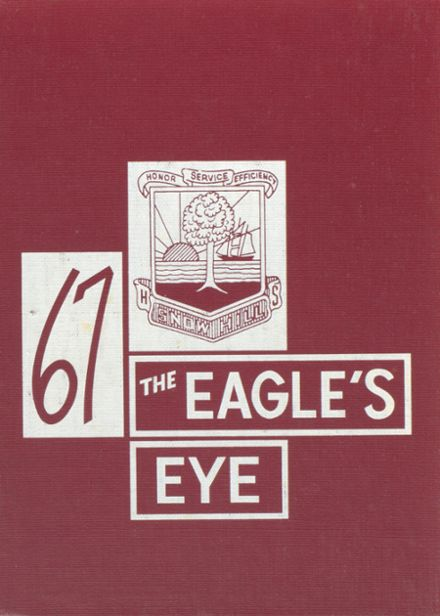 1967 Snow Hill High School Yearbook Cover