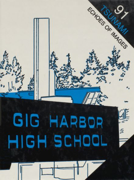 1991 Gig Harbor High School Yearbook Page 1
