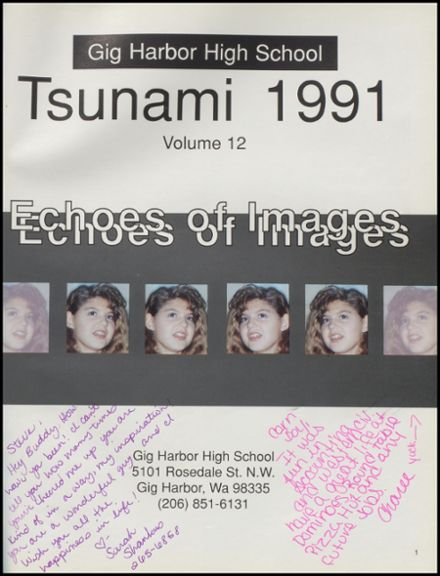 1991 Gig Harbor High School Yearbook Page 5