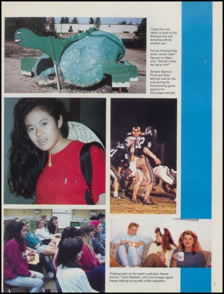 1991 Gig Harbor High School Yearbook Page 7