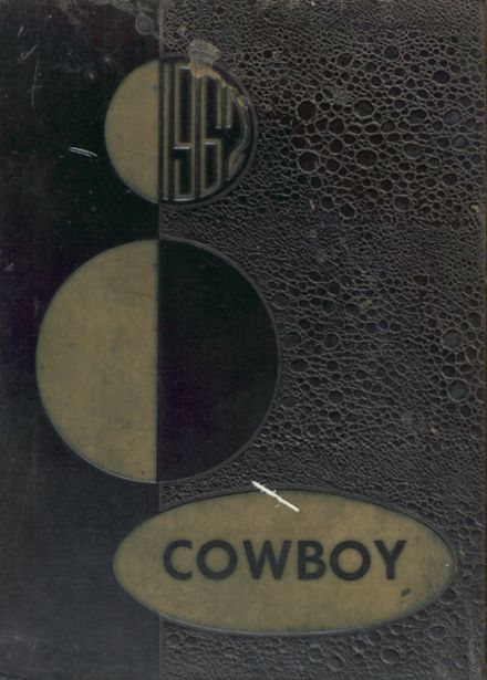 1962 Plains High School Yearbook Cover