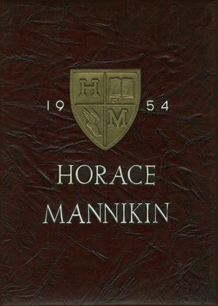 1954 Horace Mann School Yearbook Cover