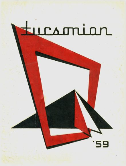1959 Tucson High School Yearbook Cover