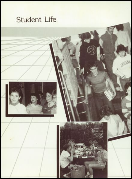 1985 Manchester High School Yearbook Page 8