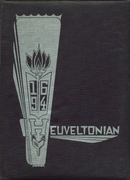 1964 Heuvelton Central High School Yearbook Cover
