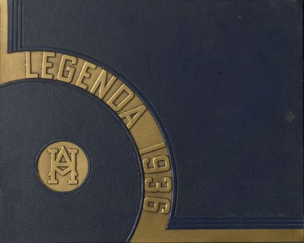 1936 Arthur Hill High School Yearbook Cover