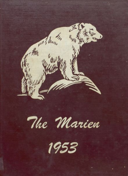 1953 East Forest High School Yearbook Cover