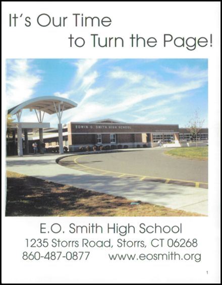 2003 Edwin O. Smith High School Yearbook Page 5