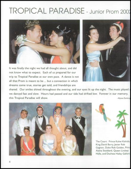 2003 Edwin O. Smith High School Yearbook Page 8