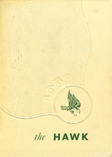 1956 Woodward Community High School Yearbook Cover