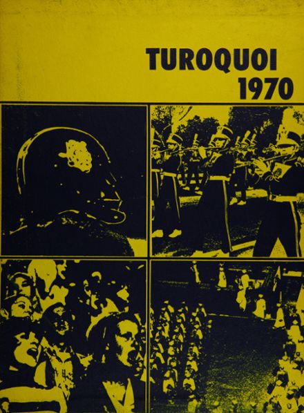 1970 Azusa High School Yearbook Cover
