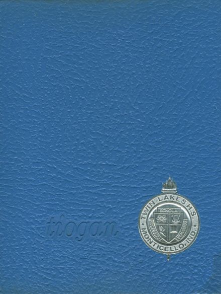 1969 Twin Lakes High School Yearbook Cover