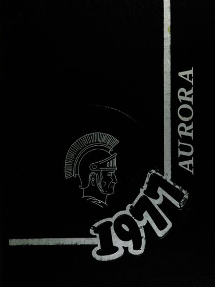 1977 Saginaw High School Yearbook Cover