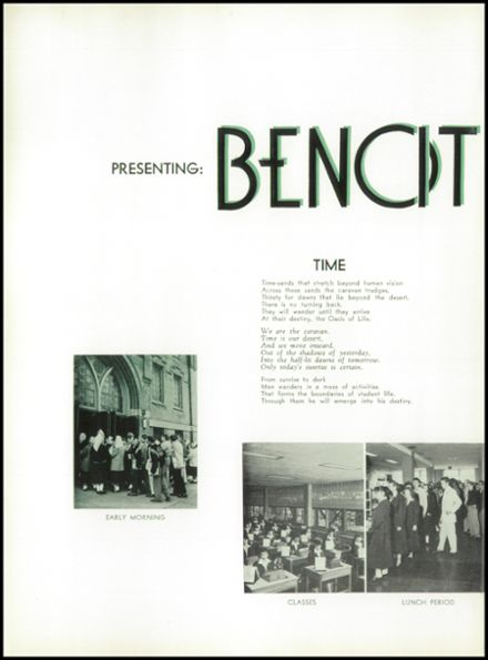 1957 St. Benedict High School Yearbook Page 6
