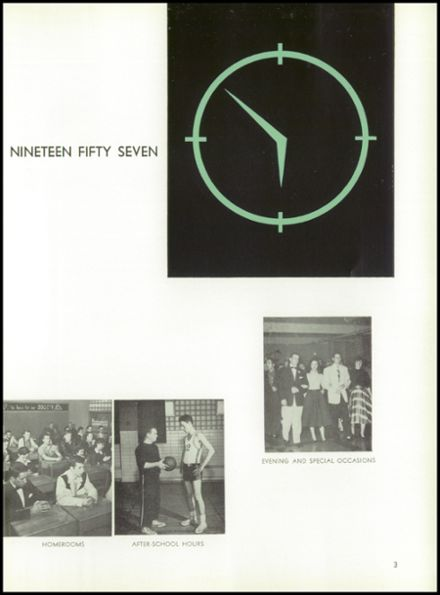 1957 St. Benedict High School Yearbook Page 7