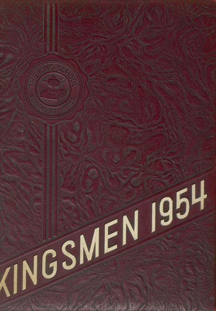 1954 King/Low-Heywood Thomas High School Yearbook Cover