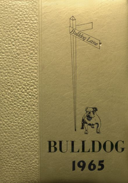 1965 Valliant High School Yearbook Cover